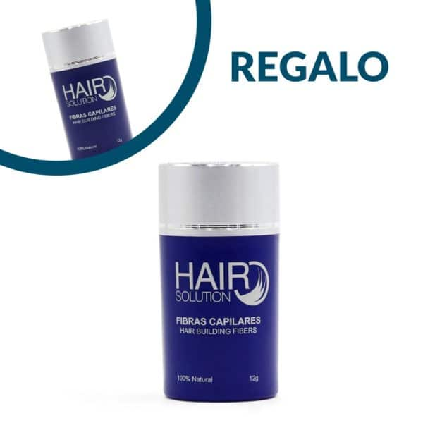 Fibras capilares Hair Solution 2x1